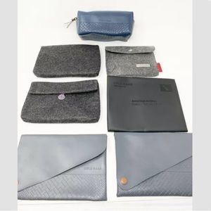 Cole haan American Airlines amenity cosmetic bags